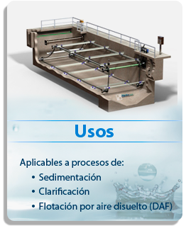 rastras no metalicas polychem collector system
